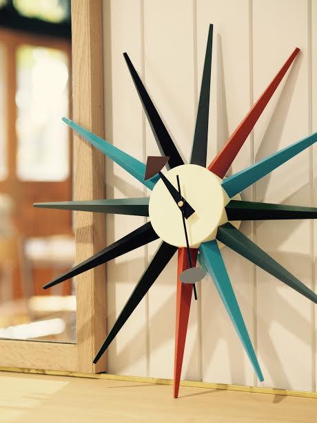 ジョージネルソン 壁掛け時計 表参道時代のお客様から頂きました♫